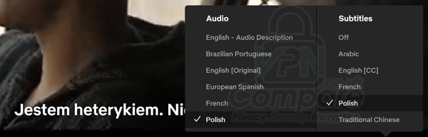 Polish language Netflix