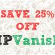 IPVanish 25%