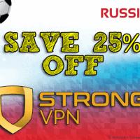 StrongVPN 25% Discount
