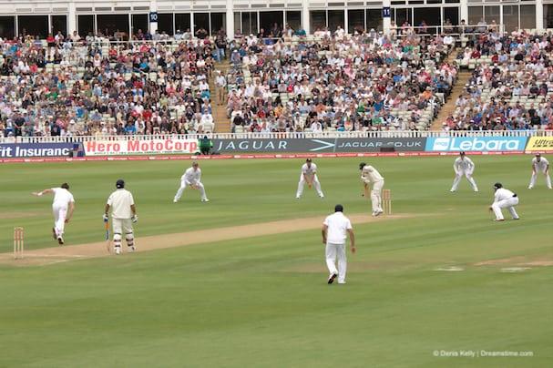 England v India Cricket
