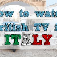 British TV Italy