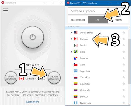 ExpressVPN Canada