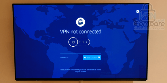 CyberGhost VPN Fire TV app
