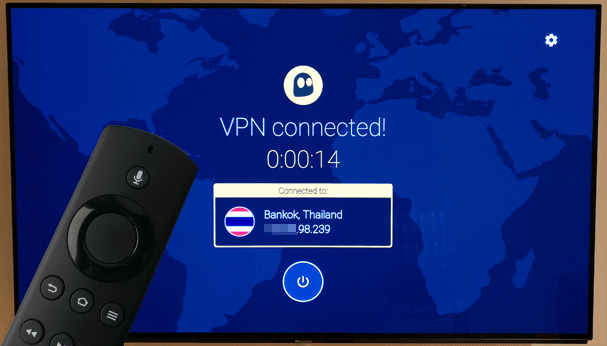 CyberGhost VPN Fire TV
