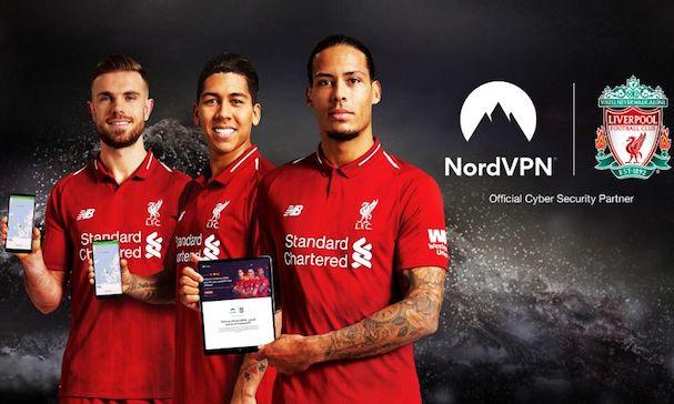 NordVPN Liverpool FC