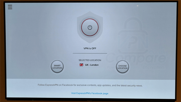 ExpressVPN Fire TV app