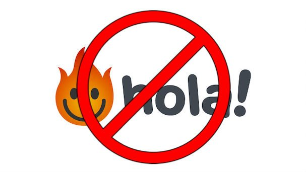 Don't Use HolaVPN