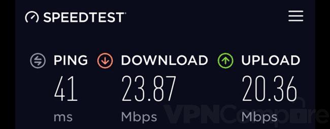 ExpressVPN China speeds Oct 20