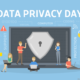 Computer showing Data Privacy Day