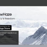 SnowHaze Website