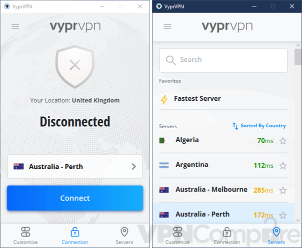 VyprVPN Windows app
