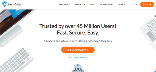 Zenmate website