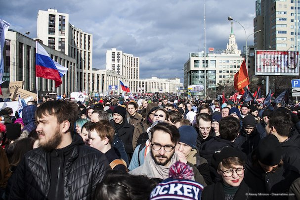 Moscow Internet Protests