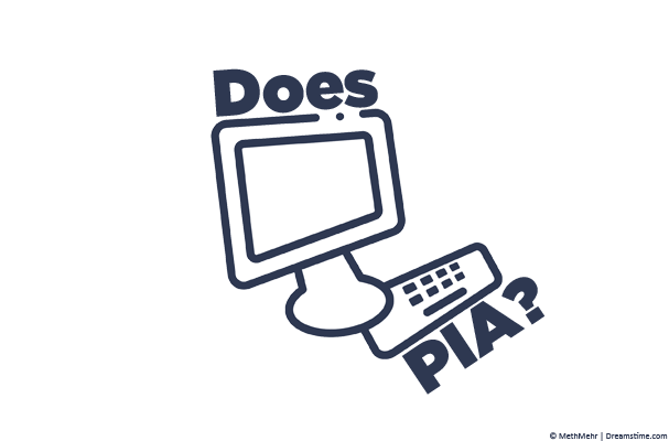 Computer illustration with text Does PIA