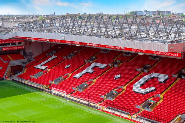 Liverpool football ground