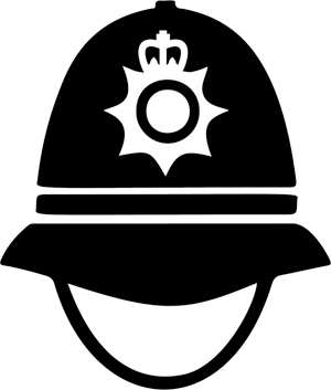 Police Helmet illustration