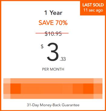 Example 70% VPN discount