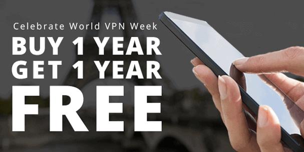 IPVanish Buy One Get One Free
