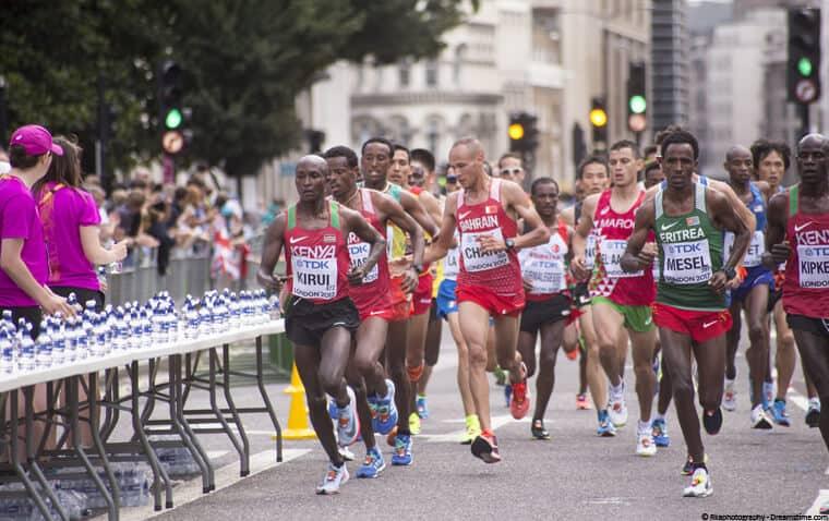 London marathon elite runners