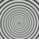 Spinning circles in the style of The Twilight Zone