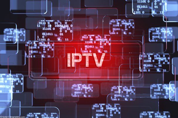 Digital design with IPTV text