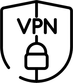 VPN Padlock Shield
