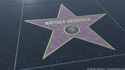 Matthew Broderick Hollywood star