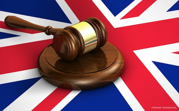 Uk Law And British Legal System Concept