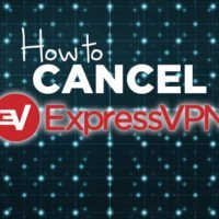 How to cancel ExpressVPN text