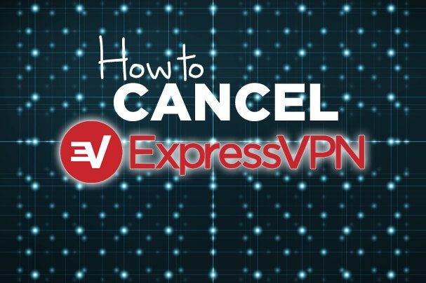 How to cancel ExpressVPN text