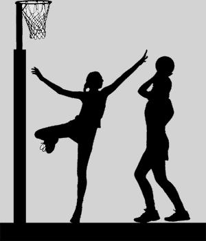 Netball players