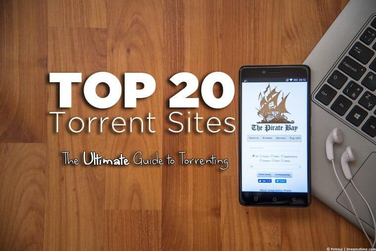 Top 20 torrent sites