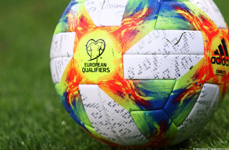 Euro 2020 Qualifier football