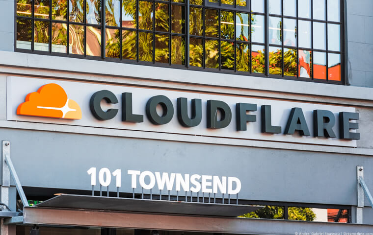 Cloudflare building