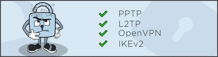 Goose VPN Protocol header