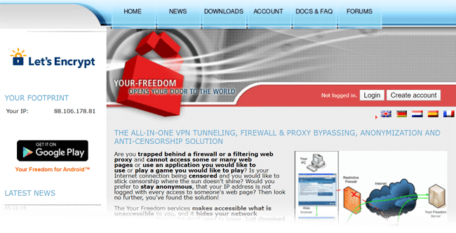 Your Freedom VPN