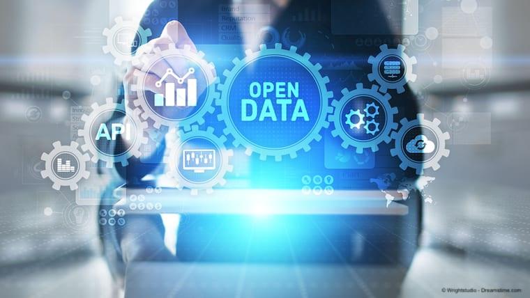 Open data concept