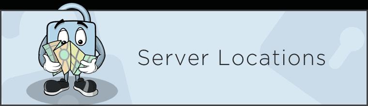 Server locations