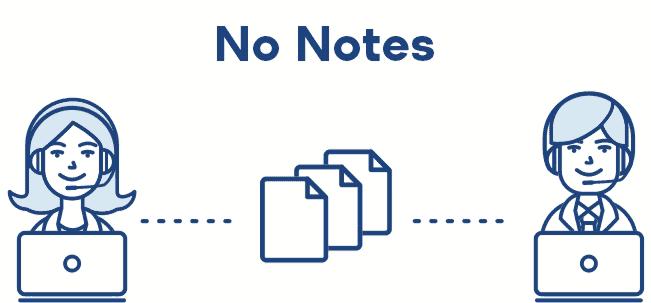 Journalist No Notes