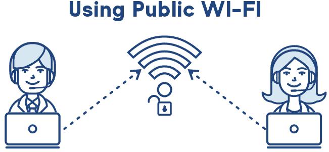 Journalist public wi-fi