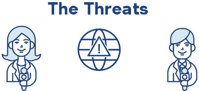 Journalist threats