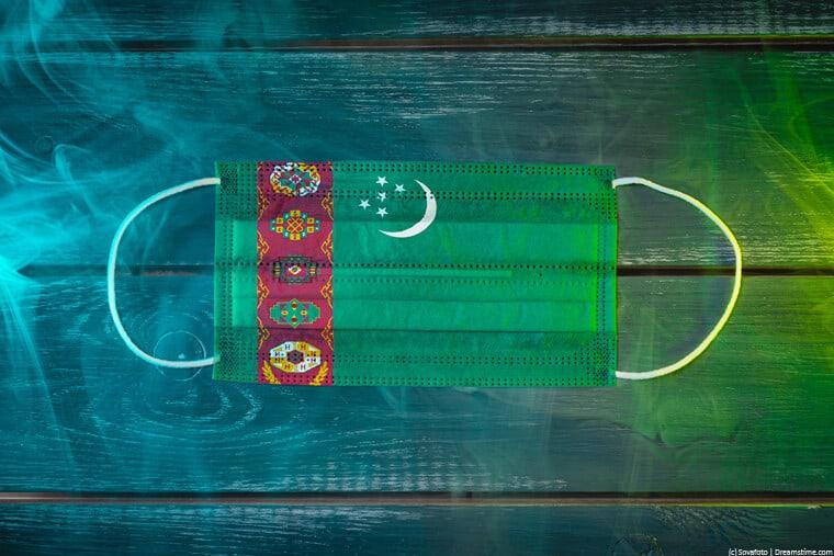 Turkmenistan medical mask
