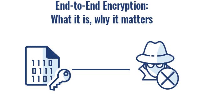 End 2 End encryption