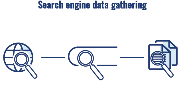 Search engine data